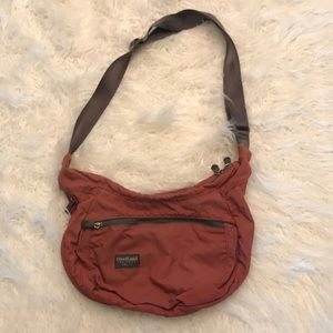 OVERLAND EQUIPMENT BURNT ORANGE CROSSBODY BAG